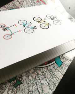 Cycle And The City A5 Recycle Paper Notebooks