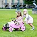 Pink Or Green Vintage Pedal Car