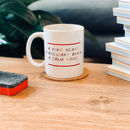 'Kind Heart, Calm Voice' Teacher Mug