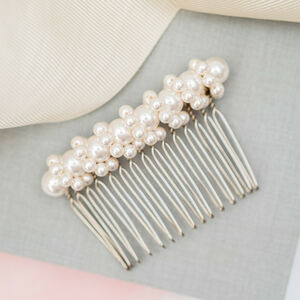 Twisted Pearl Bridal Comb