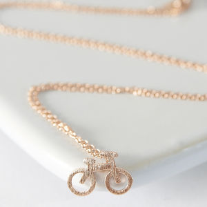 My Bicycle Necklace - necklaces & pendants