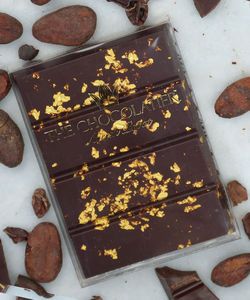 23ct Gold Speckled Chocolate Bar 50g - luxury chocolates