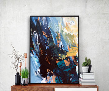 Abstract 53 Modern Poster Art Print A4 Or A5 Size