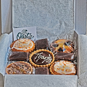 Personalised Gluten Free Tea Time Selection Box - gifts to eat & drink