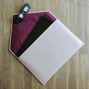 Undercover Personalised Leather Laptop Envelope - tech accessories for her