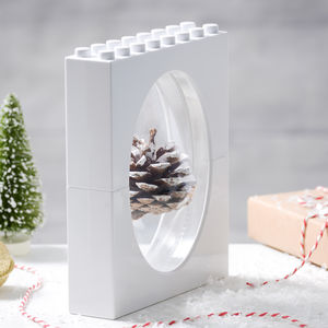 Christmas 3D White Frame
