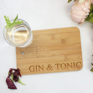 'Gin And Tonic' Mini Serving Board - kitchen