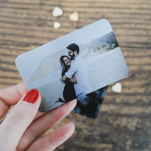 Aluminium Photo And Message Card
