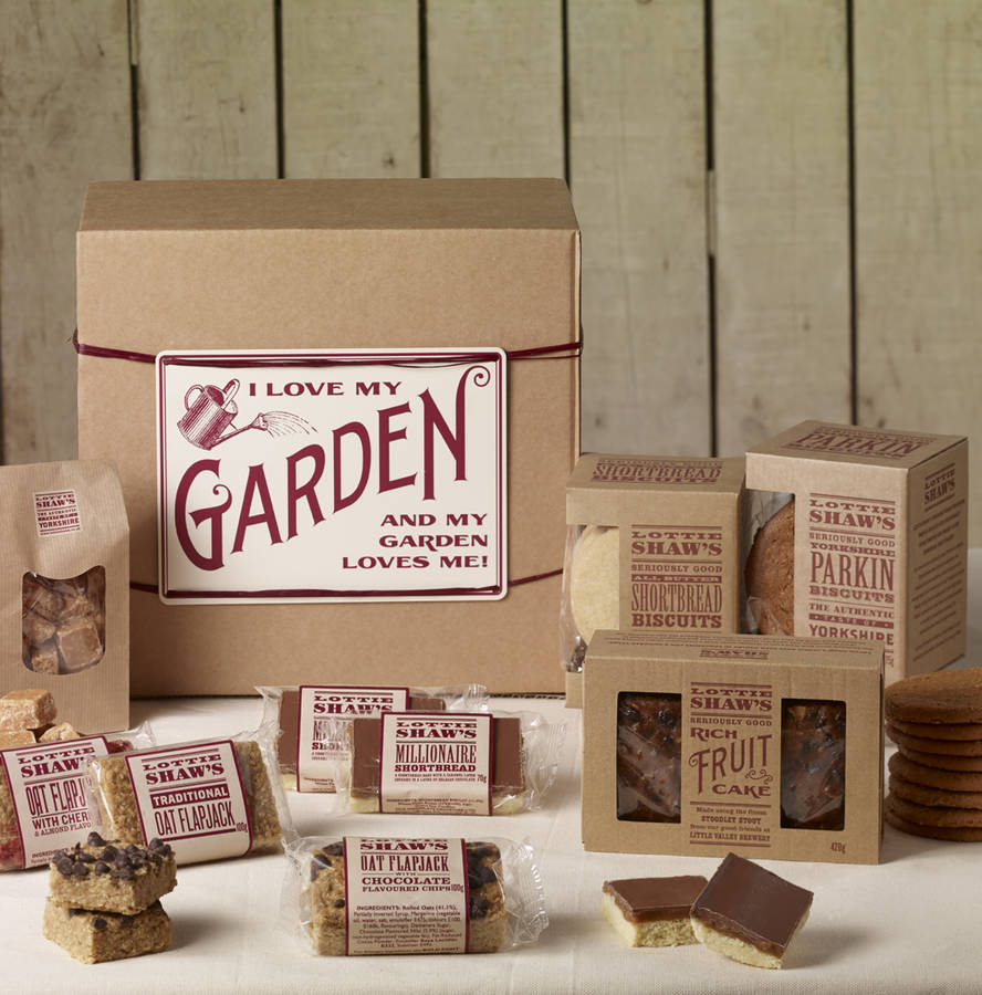 Gardener's Treat Hamper Box