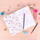 Tropical Flamingo Stationery Set