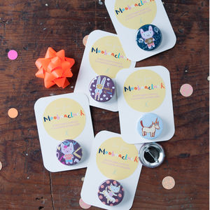 Party Or Christmas Stocking Filler Badges - children's parties