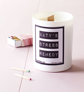 Personalised Soy Wax Candle - gifts for her