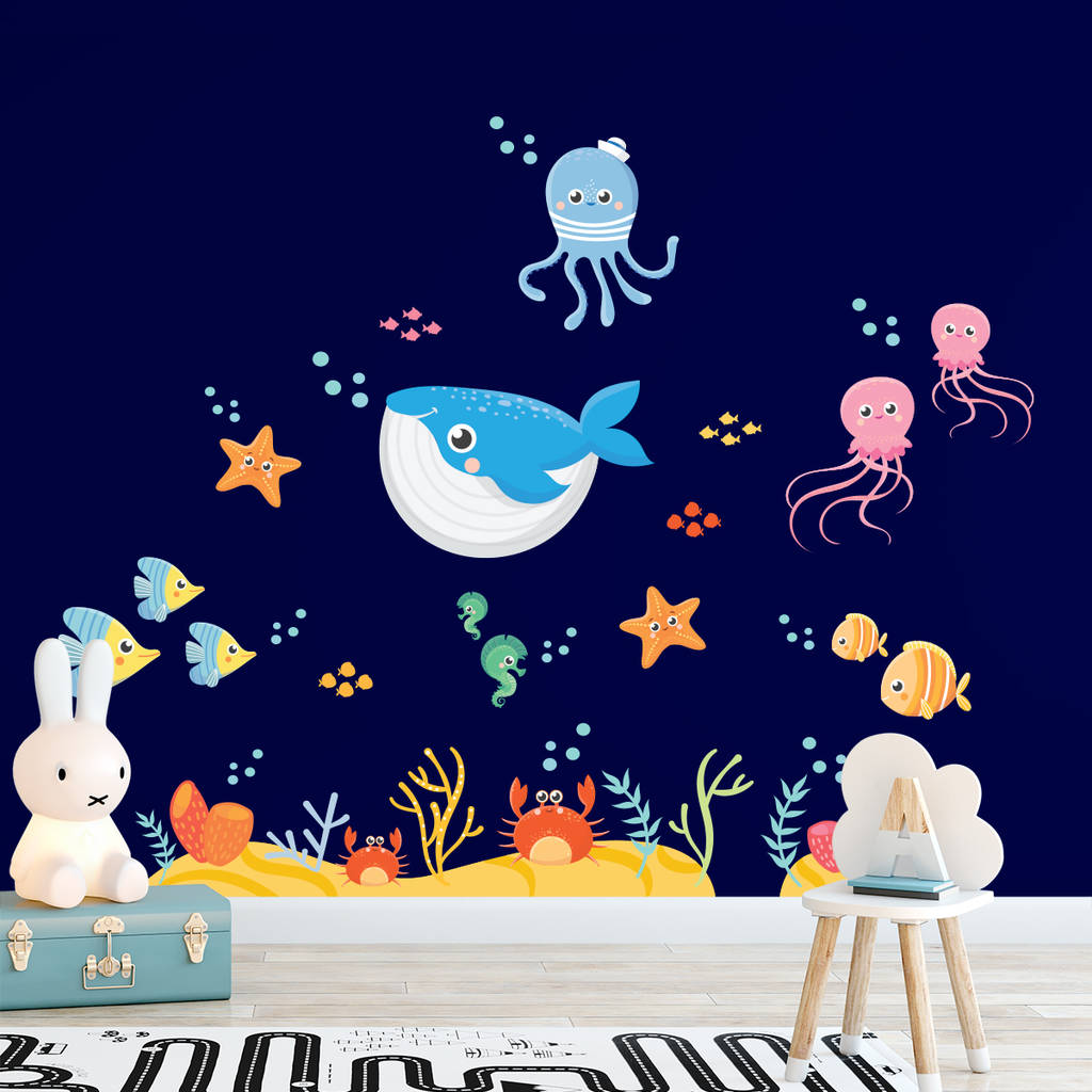 Under The Sea Wall Decal Sticker Set By Sirface Graphics
