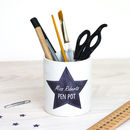 Personalised Teacher Pen Pot