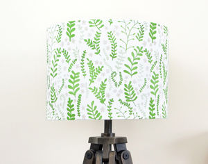Ferns Lampshade - lamp bases & shades