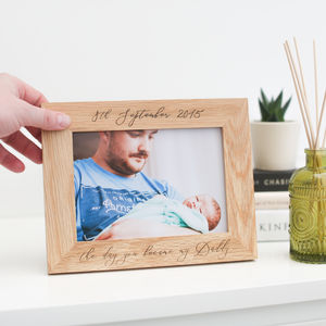 'The Day You Became My Daddy' First Father's Day Gift - first father's day