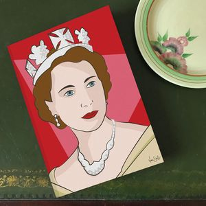 'Queenie' A5 Lines Notebook