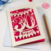 Personalised Birthday Card - cards