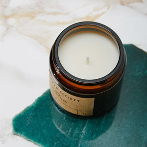 Wanderlust Orange Blossom Scented Soy Candle - the candle emporium