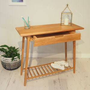 Wooden Console Table Stockholm - furniture