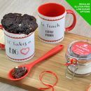 Thankyou Teacher Cake In A Cup Kit Personalised