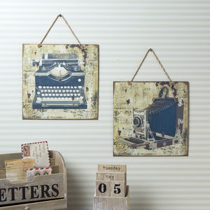Vintage Sign - home accessories