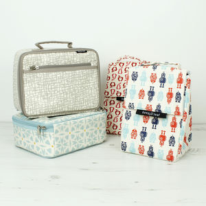 Organic Cotton Insulated Lunch Bags And Boxes - picnics & barbecues