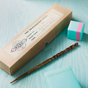 Personalised Wand - gifts for him
