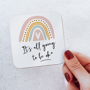 It Will All Be Ok Coaster