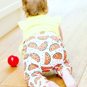 Watermelon Baby Leggings