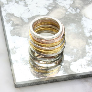 Textured Ring - rings