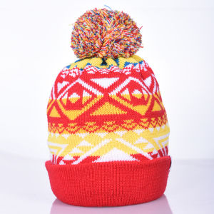Nava Say Nava Turnup Merino Wool Beanie Hat Nsn01