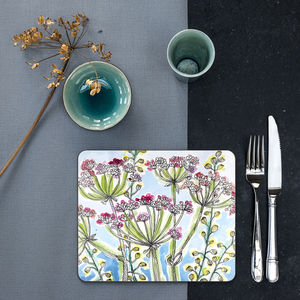 Summer Garden Placemats Set Of Four - dining room