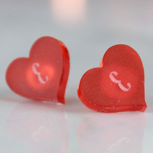 Heart Earrings - children's jewellery