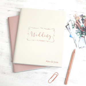 Leather Wedding Planner - view all new