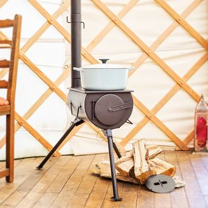 'The Frontier' Portable Log Burning Stove - fire pits & outdoor heating