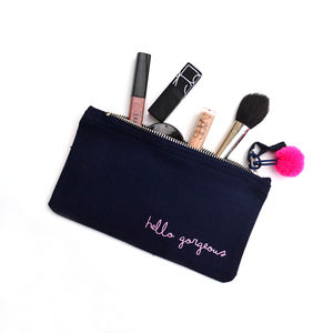 'Hello Gorgeous' Make Up Bag - make-up bags