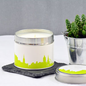 Cityscape Candle