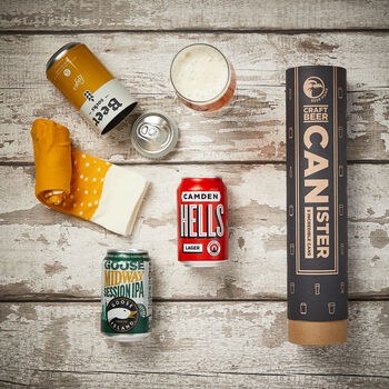 Craft Beer And Socks Canister