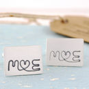 wedding anniversary gift cufflinks