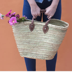 Souk Moroccan Shopping Basket - beach bags