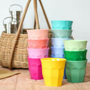 Solid Colour Bright Melamine Cup