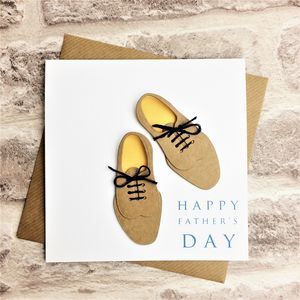 Dapper Shoes Father's Day Card - father's day cards