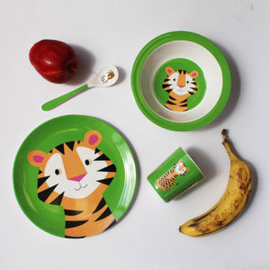 Tiger Melamine Tableware - dining room