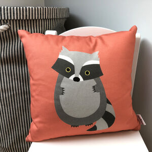 Raccoon Cushion