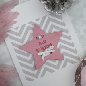 Personalised New Baby Keepsake Card - new baby & christening cards