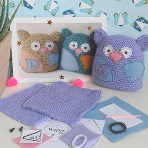 Owl Toy Sewing Kit