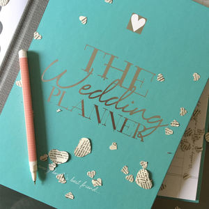 Wedding Planner Limited Edition - engagement gifts