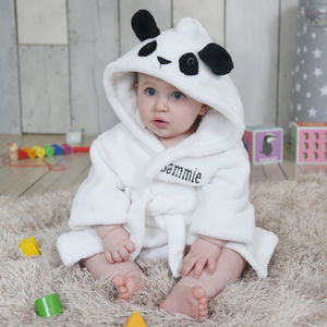 Panda Robe - new baby gifts