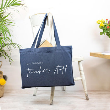 Personalised Teacher Thank You Bag